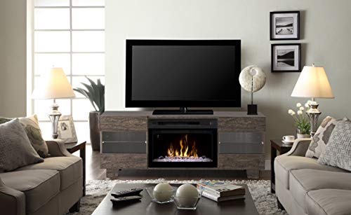 Cheap DIMPLEX Max Media Console Electric Fireplace with Acrylic Ember Bed Black Friday & Cyber Monday 2019