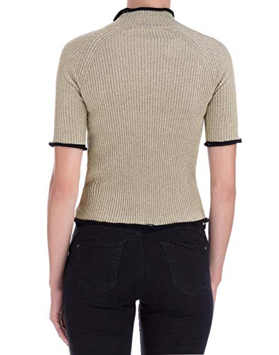 Algodon G33wp077a2 Golden shirt Mujer Oro T Goose RpwcfS1P
