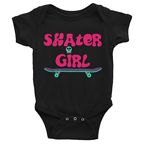 - Stitched from the Crypt Skater Girl Baby Onesie Infant Bodysuit