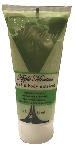 SPA Apple Martini Hand & Body Nutrient Body Lotion, 6 fl. oz. (Spa Martini)