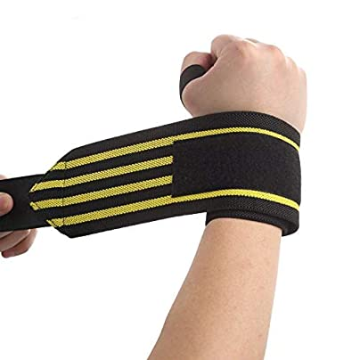 JJROUXIYUJIN Sporting Goods Booster Fitness Strength Training Compression Bandage Strap Weightlifting Wrist Wrist Wristband Estimated Price £12.69 -