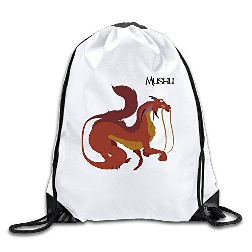Mulan Dragon Costume (Custom Great Guardian Spirit Mushu Sport Backpack Drawstring Print Bag)