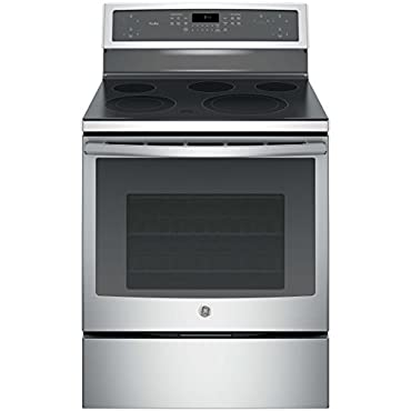 GE PB911SJSS Profile 30 Stainless Steel Electric Smoothtop Range Convection