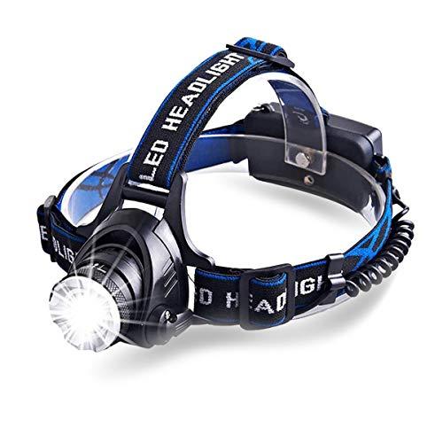 Mini LED Headlamp Lightweight 2.8 oz, 200 Lumens Bright, 4 Models