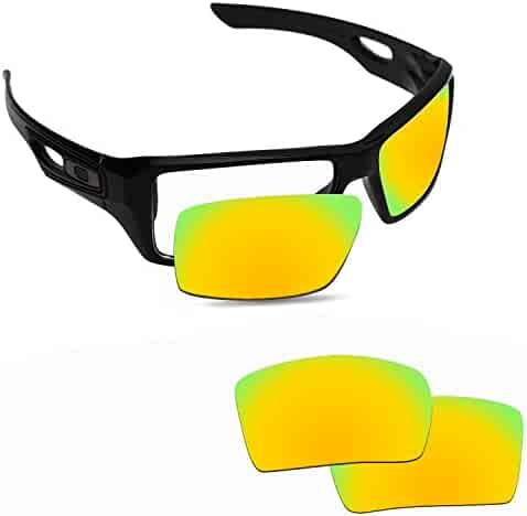 4107c2b35e Fiskr Anti-saltwater Replacement Lenses for Oakley Eyepatch 1 2 Sunglasses  - Various Colors