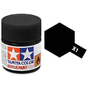 Tamiya Models X-1 Mini Acrylic Paint, Black