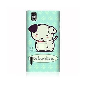 Dalmatian Wonder Dog Design Protective Back Case Cover for LG Prada 3.0 P940