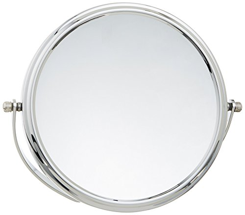 Danielle Easel Back Vanity Mirror, Chrome, 10X