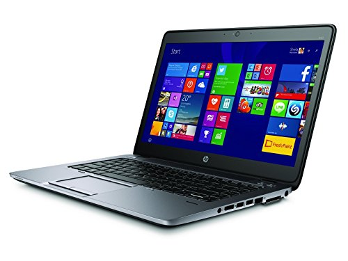 HP EliteBook 840 G2 Business Notebook with 14 Inch HD Display, Intel Core i7 CPU, 16GB RAM, 500GB SSD, Windows 10, (Renewed)
