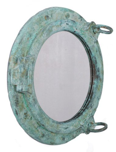 41fg3kKpBKL Best Porthole Mirrors For Nautical Homes