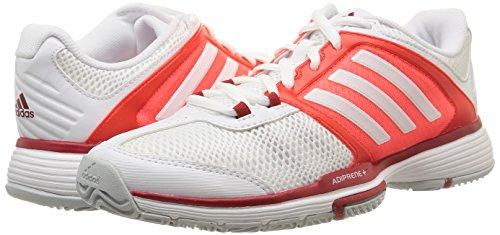 Barricade Team Tennis De 4 solar Chaussures Femme white white Blanc Red Adidas qfnCdq