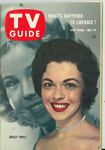 1958 TV Guide May 3 Shirley Temple (Classic Cover) - Pittsburgh Edition Near-Mint (7 out of 10) Very Lightly Used by Mickeys Pubs