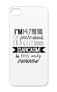 White Shockproof Funny Teen Wolf Jokes Stiles Stilinski Sarcasm Funny TPU Case Cover For Iphone 5c Sarcasm