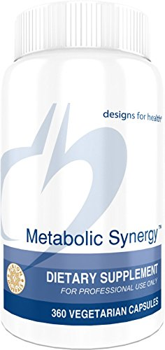 Designs for Health - Metabolic Synergy - 360 Vegetarian Capsules by designs for health