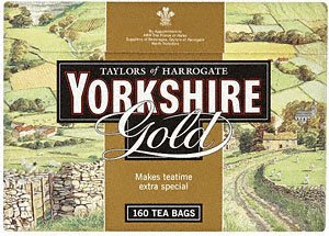 Taylors of Harrogate Yorkshire Gold, 160 Teabags (Pack of 6) by Yorkshire