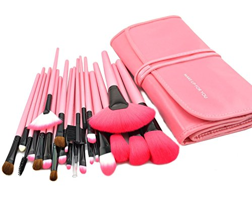 Makeup Brushes Cosmetic Synthetic Leather product image