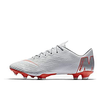 NIKE Mercurial Vapor 12 Pro FG Soccer Cleat (Wolf Grey) (Men's 11.5/Women's 13)