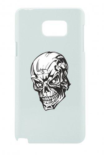 """Smartphone Case Apple IPhone 6/ 6S """"Schädel Totenkopf schaut gefährlich böse Rocker Motorradclub Skelett Gothic Biker Skull Emo Old School"""" Spass- Kult- Motiv Geschenkidee Ostern Weihnachten"""