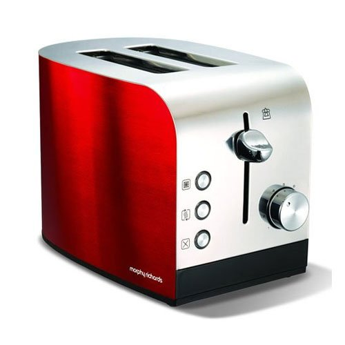 Morphy Richards Accents Two Slice Toaster Red Amazon