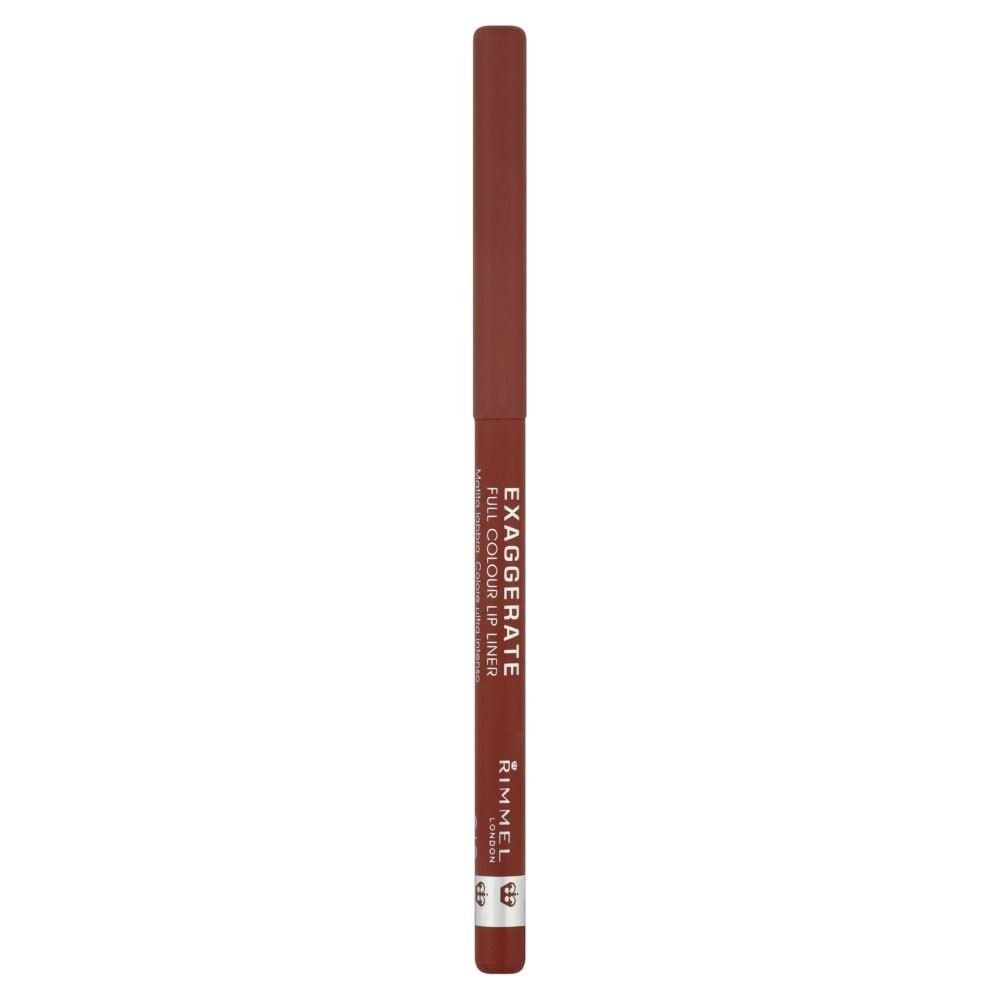Rimmel Exaggerate Lip Liner - Addiction - Pack of 6