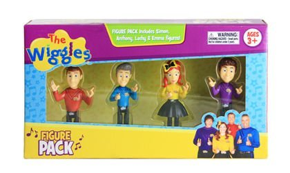 The Wiggles 4-Figure Pack (2017)