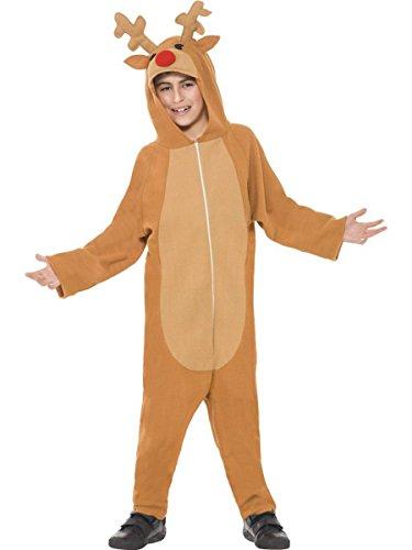 1 Piece Unisex Childs Reindeer Costume Onesie Jumpsuit