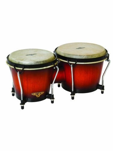 Latin Percussion CP221VSB Traditional Bongos - Vintage Sunburst by Latin Percussion