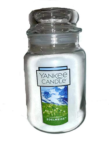 Yankee Candle 22 oz Large Holiday Jar Candle EDELWEISS ()