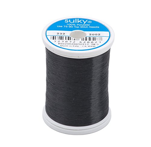 Sulky Of America 0.004mm Invisible Polyester Thread, 2200 yd, Smoke (232-2002)