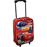 "Cars 15"" Collapsible Wheeled Pilot Case - Rolling Luggage"