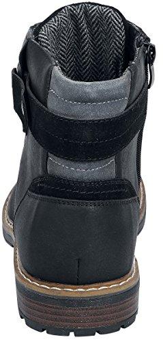 Refresh Amphibiens Boot Black / Bottes Noir Eu41