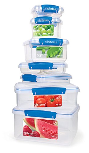 Sistema Klip It Collection Rectangle Food Storage Container