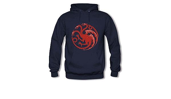 House Targaryen Pattern Print Sweatshirt Unisex Hoodie Pullover Hoody Hooded Top