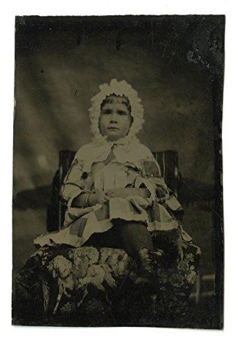 (19th Century Children - Original 19th Century Tintype Photograph)