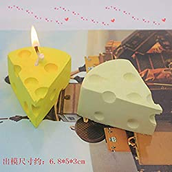 Candle Molds Cheese Shape DIY Candle Crafts Molds