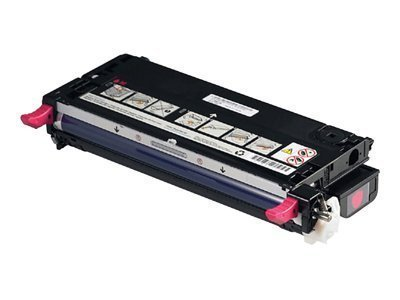Dell - Toner cartridge - High Capacity - 1 x magenta - 9000 pages - for Color Laser Printer 3130cn -