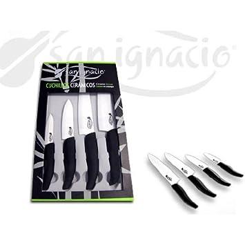 San Ignacio Set 4 cuchillos cerámicos