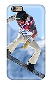 High Impact Dirt/shock Proof Case Cover For Iphone 5s (shaun White Snowboarding )(3D PC Soft Case)