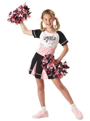 (California Costumes All Star Cheerleader Child Costume,)