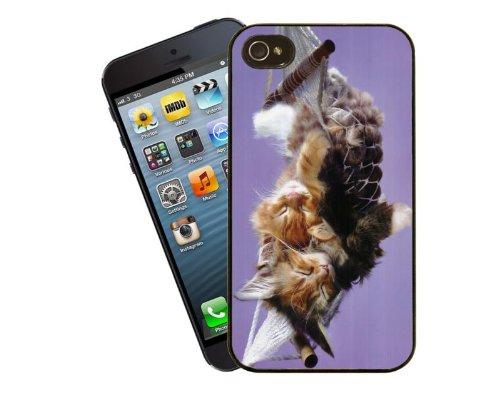Katze-Telefon-Fall, design 3 - für Apple iPhone 4 / 4 s - Cover von Eclipse-Geschenkideen