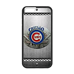 Chicago Cubs Design Theme Back TPU Case for 4.7 inch Screen iPhone 6 (Laser Technology)-by Allthingsbasketball