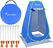 Pop Up Camping Shower Tent, Sportneer Portable Dressing Changing Room Privacy Shelter Tents for Outdoor Campin