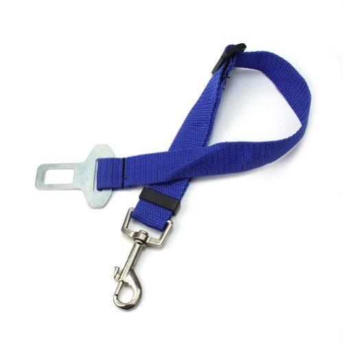 Nylon Sicherheitsgeschirr Hunde Haustier Auto Gurt Anschnallgurt Autogeschirr(43-68cm)