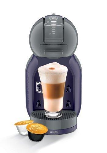 Nescafe Dolce Gusto Mini Me Automatic Coffee Capsule Machine Indigo/ Dark Grey by Krups by KRUPS