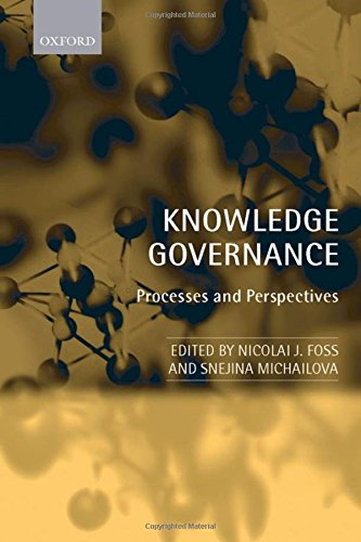 Knowledge Governance: Processes and Perspectives by Oxford University Press