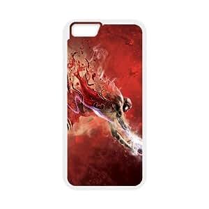 iPhone 6 Plus 5.5 Inch Cell Phone Case White Michael Jordan JSK757463