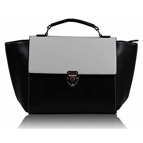 TrendStar - Bolsa mujer Z - Black/White
