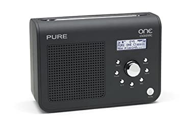 pure one classic portable dab fm radio black amazon co uk tv rh amazon co uk pure digital radio instruction manual pure siesta digital radio manual