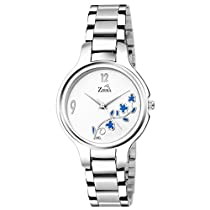 ZIERA ZR8077 Special Design White Dial Analogue Women's Watc
