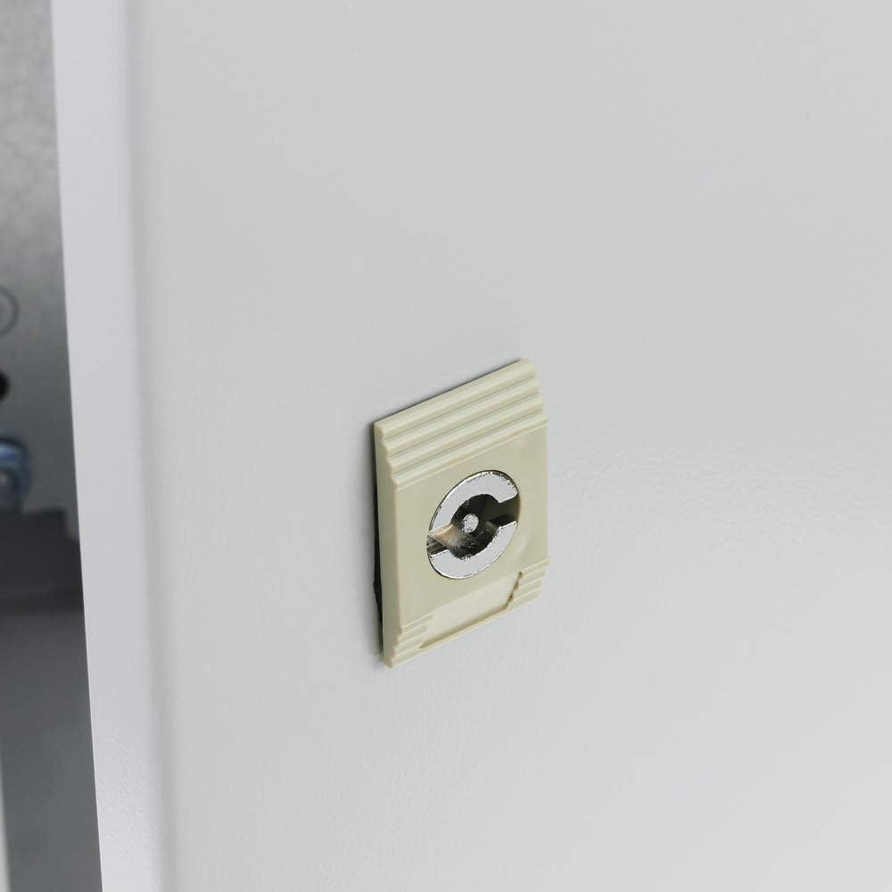 BeMatik - Caja de distribución eléctrica metálica con protección IP65 para fijación a Pared 700x500x200mm: Amazon.es: Electrónica